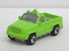 Pick Up Truck in neongrün, Burger King, Matchbox, o. OVP, L: 7,5 cm