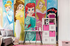 Disney wallpaper mural for girl's bedroom Disney Princess Giant photo wall