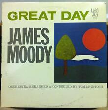 JAMES MOODY great day LP Mint- LP-725 Vinyl 1963 Argo Mono DG USA Esmond Edwards