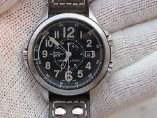 HAMILTON KHAKI GMT AUTOMATIC H775650 LIMITED EDITION HARRISON FORD CONSERVATION