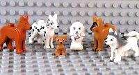 ☀️NEW Lego Friends Animal Pets x6 Dogs Husky Shepherd Dalmatian Chihuahua Poodle