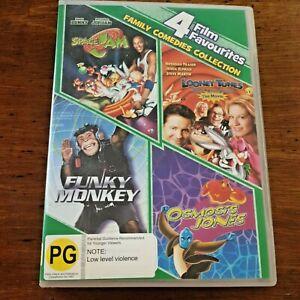 Space Jam/ Funky Monkey/ Osmosis Jones/ Looney Tunes Back in Action R4 DVD