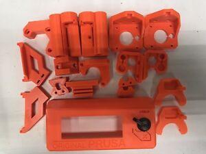 Prusa MK3 MK3 MK3s+ printed parts PETG  7 colors carbon fiber several options