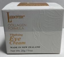 Lanocreme Collagen Formula Vitalizing Eye Cream - 2/3 oz./20g New T1