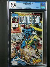 Deaths Head II #V2 #1 CGC 9.4 NM X-Men Appearance Wraparound Cover 1992