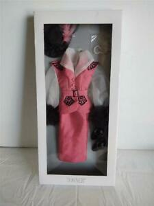 Tonner Doll Company Matinee Luncheon Pink Outfit with Hat Shoes Jewelry New