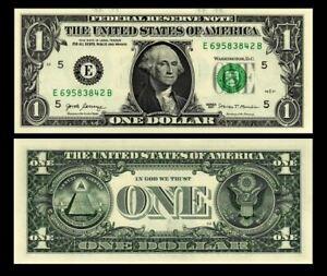 USA 1 DOLLAR 2017 P 544 UNC (E-Richmond VA)