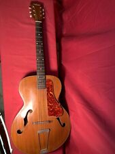 playable 1950'S (or earlier) WEBSTER ARCHTOP ACOUSTIC GUITAR likely made by KAY
