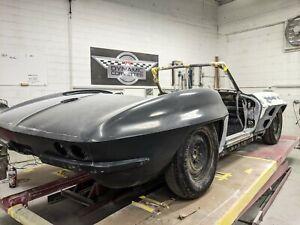 C2 Corvette Custom Fiberglass Convertible Rear Clip