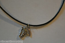 NEW HORSE PONY HEAD Necklace PENDANT IN PRETTY GIFT BAG