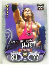 "Slam Attax - #266 bret ""Hit Man"" Hart-Live 2018"
