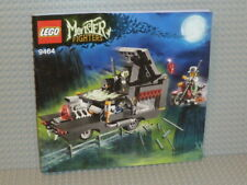 LEGO® Monster Fighters Bauanleitung 9464 The Vampyre Hearse ungelocht B250