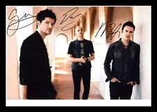 THE SCRIPT AUTOGRAPHED SIGNED & FRAMED PP POSTER PHOTO