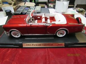 1/18 SCALE 1953 PACKARD CARIBBEAN CONVERTIBLE CANDY RED Road Signature Model
