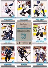 2009-10 OPC O-Pee-Chee Retro Tampa Bay Lightning Complete Team Set (15)