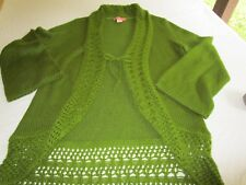 Bandolino Women's Sweater Cardigan Casual Work Office Size XL
