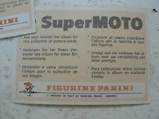 STICKER,DECAL ZUNDAPP KS 125 SPORT BIKE  SUPERMOTO ALBUM CARD PANINI NO 184 A