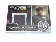 2014 Ender's Game #M06 VIOLA DAVIS worn Major Anderson Relic SUICIDE SQUAD Doubt