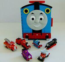 Thomas & Friends Carry Case & Diecast Take N' Play Trains Bundle