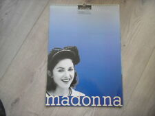 Madonna calendar 1994 43cm x 30cm published by Culture Shock