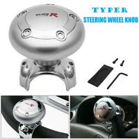 Steering Wheel Aid Power Handle Assister Spinner Knob Ball For Car Truck Bus