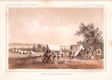 """1860 USPRR """"Council with White Man's Horse"""""""