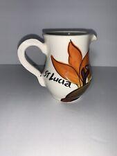 Frazer's Ceramic St Lucia Creamer