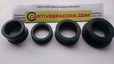 HONDA SP1 SP2 RC51 RVT1000R 2000- 2006 Captive wheel Spacers.  Black