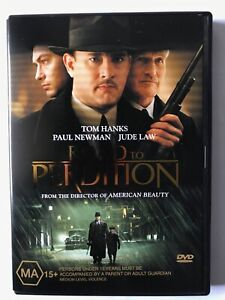 Road to Perdition (2002, Region 4 DVD, Tom Hanks, Paul Newman, Jude Law)