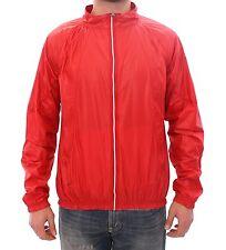 NWT $560 DOLCE & GABBANA D&G Red Sport Gym Windbreaker Jacket 48 / US38 / M