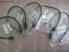 """RR-2MBL01-EXT-12GL5 USB MINI-B RIGHT ANGLED EXTENSION CABLE-12""""-LOT OF (5)"""