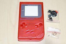 Claro Rojo Nuevo Shell De Repuesto Carcasa Funda Original Nintendo Game Boy DMG 01