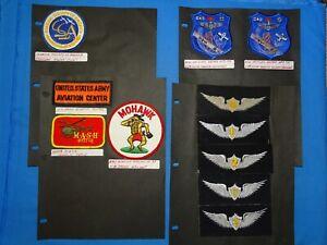 USAF / USN Training FTS Squadron Patch Lot (#24)