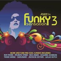 FUNKY SENSATION VOLUME 3 Various Artists NEW & SEALED 2X CD JAZZ FUNK SOUL