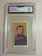 HONUS WAGNER ESTATE 1909 T206 REPRINT PIEDMONT TOBACCO GRADED 10 GEM MINT