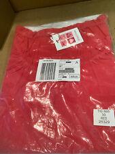 Glamorosa Ladies Red Gypsy Top Size 30