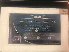 SHEEX® Micro•BALANCE 37.5® Performance 300-Thread-Count Full Sheets Ivory