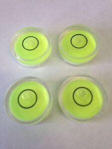 32 x10mm Diameter Disc Bubble Spirit Level Round Circle Circular mini bullseye Y