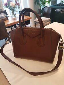 Givenchy Womens Brown Medium Antigona Bag 100% AUTHENTIC