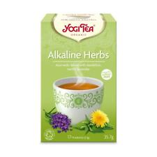 💚 Yogi Chá Chá ervas orgânicas Alcalina 17bag