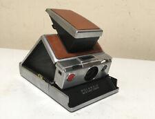 Vintage Polaroid SX-70 Instant Film Land Camera Brown Works