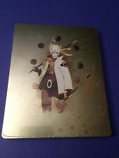 Naruto Shippuden Ultimate Ninja Storm 4 Steelbook Case *NO Game + G2 Size*  NEW
