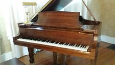 Mahogany Steinway Model O Grand Piano. Steinway refurbished Excellent condition