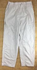 Automatic Fit Boys Pants Size 16 Khakis Chinos Light Brown Tan Uniform Dress