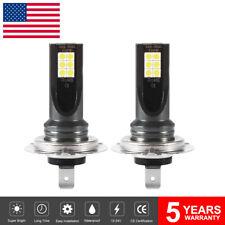 New listing 2x H7 Cree Led 6000K 200W 12Smd Super Bright Drl Fog Headlight Light Bulb Ld1850