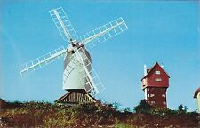 THORPENESS - MILL AND CLOUD HOUSE  COLOUR POSTCARD