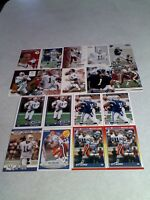 *****Jeff George*****  Lot of 125+ cards.....82 DIFFERENT / Football