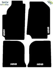 AUDI 100 C4 TAPPETI tappetini per AUTO d'epoca SU MISURA + 4 decori + 4 block!
