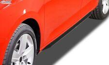 RDX Seitenschweller Slim schwarz glänzend für AUDI A4 B8, B81, 8K