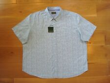 """BNWT Mens 3XL Williams & Brown Short Sleeve Casual Shirt Cotton - pit to pit 32"""""""